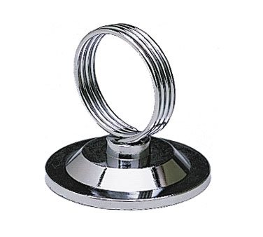 MH-RCHB Update International - Menu Holder, ring clip, stainless steel
