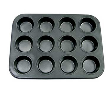 MPNS-12 Update International - Muffin/Cup Cake Pan, 12 cup, 13-7/8