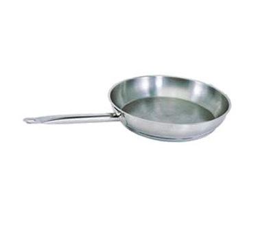 SFP-09 Update International - Fry Pan S/S 9 in with Welded Hdl / Natural Finish
