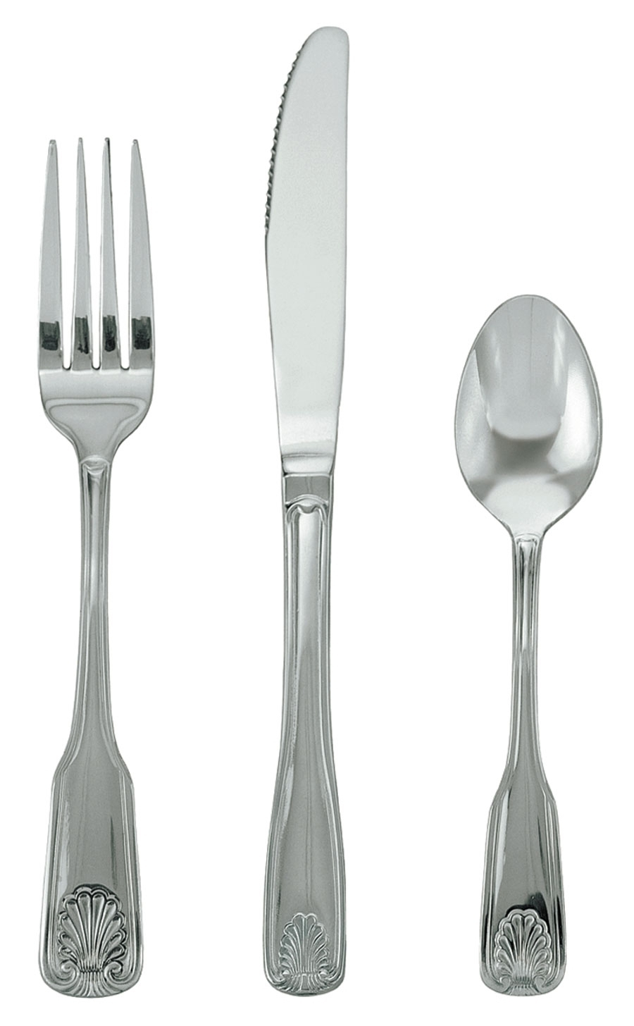 SH-506-N Update International - Salad Fork, 18/0 stainless steel, mirror polish, extra heavy weight