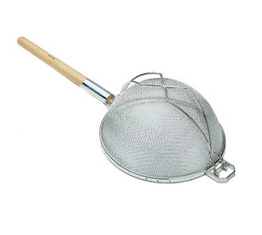SHD-10/SS Update International - Strainer S/S 10in Fine Dbl - Flat Handle