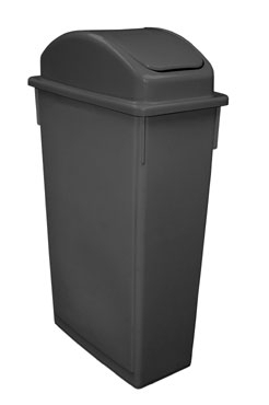 SSCL-23BK Update International - Space Saver Trash Can Lid, for SSC-23BK, black