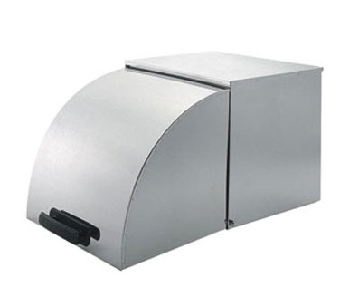 STP-RC Update International - Steam Table Pan Roll Cover, full size, stainless steel