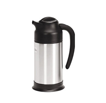SV-70 Update International - Vacuum Creamer, 0.7 liter, insulated, stainless steel lined, stainless steel body, black plastic top