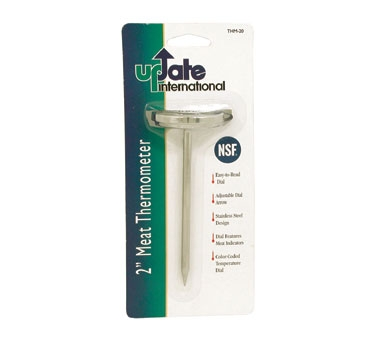THM-20 Update International - Thermometer Meat 2in Dial  130 - 190 Deg. F