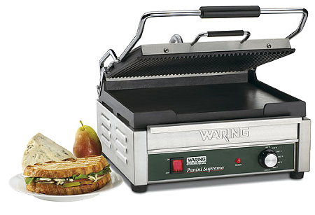 WDG250 Waring - Dual Surface Panini Grill, electric, double