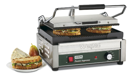 WPG250 Waring - Panini Supremo™ Large Panini Grill, electric, single