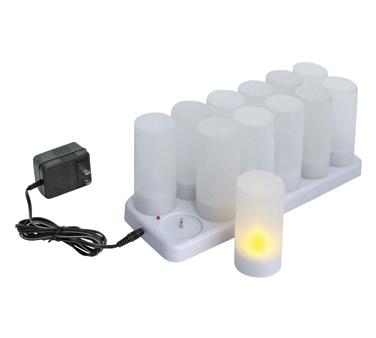 CLR-12S Winco - Flameless Tealight Candle Set