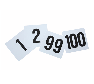 TBN-100 Winco - Table Numbers Set