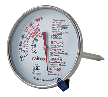 TMT-MT3 Winco - Meat Thermometer