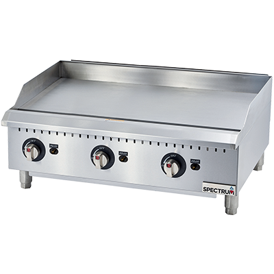 Griddle, Counter Unit, Gas