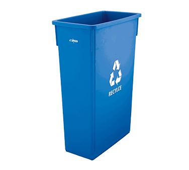 PTC-23L Winco - Slender Recycle Trash Can