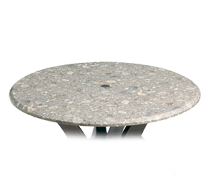 "99891304 Grosfillex - Indoor/Outdoor Table Top 48"" round with umbrella hole"