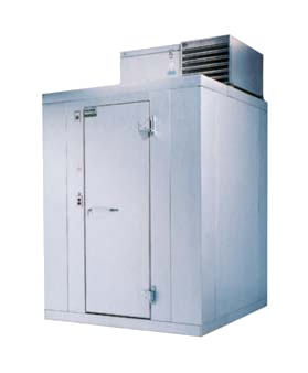 "Walk-In Freezer, Polar-Pak, 6'-6"" H, 4'-10-1/2"" W, 3'-11"" L, with floor"