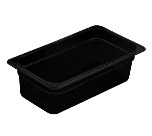 "36HP110 Cambro - FOOD PAN 1/3X6"" HP-BLACK"