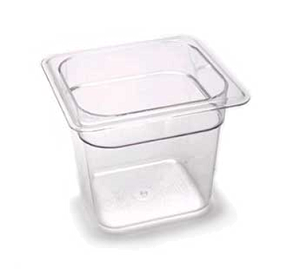 "66CW148 Cambro - FOOD PAN 1/6X6"" CW-WHITE"