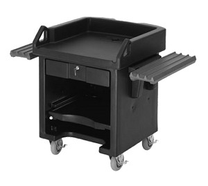 VCSWRHD519 Cambro - With Dual Tray Rails and Heavy Duty Casters