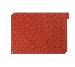 MAC01 Eurodib USA - Silikomart Macaron Mat temperature resistant from -76° F to 446° F (-60° C to 230° C)