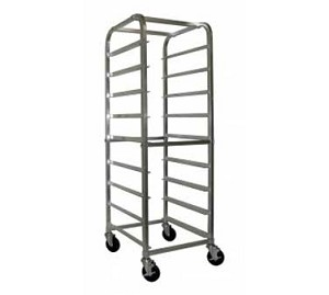 "AAR-9GW GSW USA - Glass Rack Cart, open sides, (9) 20"" x 26"" pan capacity"