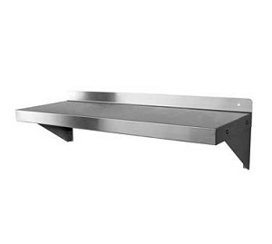 "WS-W1224 GSW USA - Shelf, wall mount, 24""L x 12""W x 10-7/8""H"