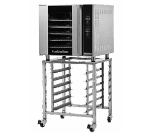 G32D5/SK32 Moffat - Turbofan® Convection Oven, gas, full-size, single-deck, with SK32 stand, 30""