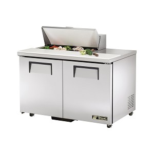 "TSSU-48-08-ADA True - ADA Compliant Sandwich/Salad Unit (8) 1/6 size (4""D) poly pans"