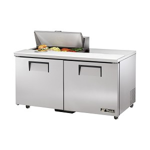 "TSSU-60-08-ADA True - ADA Compliant Sandwich/Salad Unit (8) 1/6 size (4""D) poly pans"