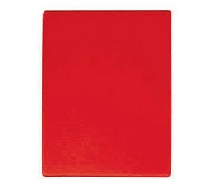 "CBRE-1824 Update International - Cutting Board, 18"" x 24"" x 1/2"", red"