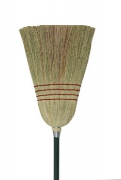 "CBRM-55 Update International - Corn Broom, 55"" metal handle, with hanging hole"