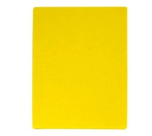"CBYE-1218 Update International - Cutting Board, 12"" x 18"" x 1/2"", yellow"