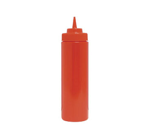 SBR-32W Update International - Squeeze Bottle 32oz Red Wide Mouth (6 pcs/PK)