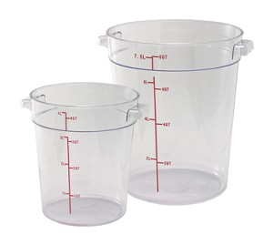 PCRC-12 Winco - Food Storage Container