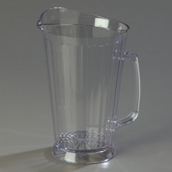 558707 Carlisle - Crystalite® Pitcher 60 oz.