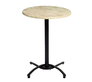 52812017 Grosfillex - Table Base bar height for 24