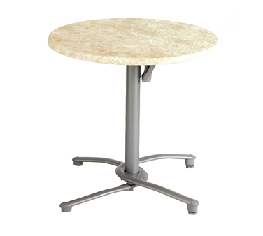 US809009 Grosfillex - Tilt Top Base 200 aluminum for daily storage