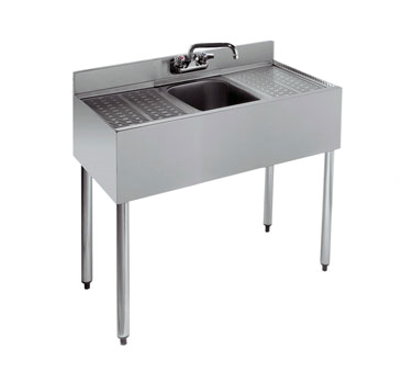 18-31C Krowne Metal - Standard 1800 Series Underbar Sink Unit one compartment