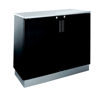 BR48R Krowne Metal - Refrigerated Back Bar Storage Cabinet two section