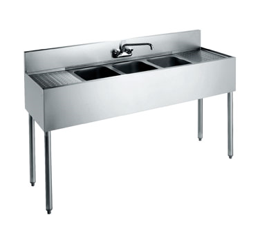 CS-1872 Krowne Metal - Convenience Store Sink three compartment