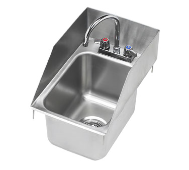HS-1220 Krowne Metal - Drop-In Hand Sink one compartment