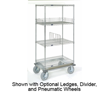 Shelving Unit on Dolly Truck