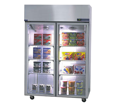 NR524SSG/0X Nor-Lake - Nova Reach-In Refrigerator Two-Section
