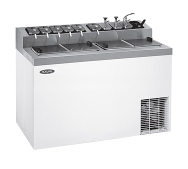 ZF174SVS/0 Nor-Lake - Ice Cream Dipping/Topping Cabinet 54