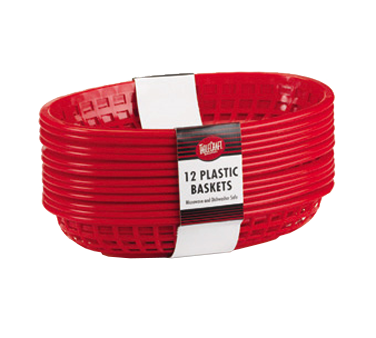 C1084BK Tablecraft Products - Cash & Carry Baskets 11-3/4