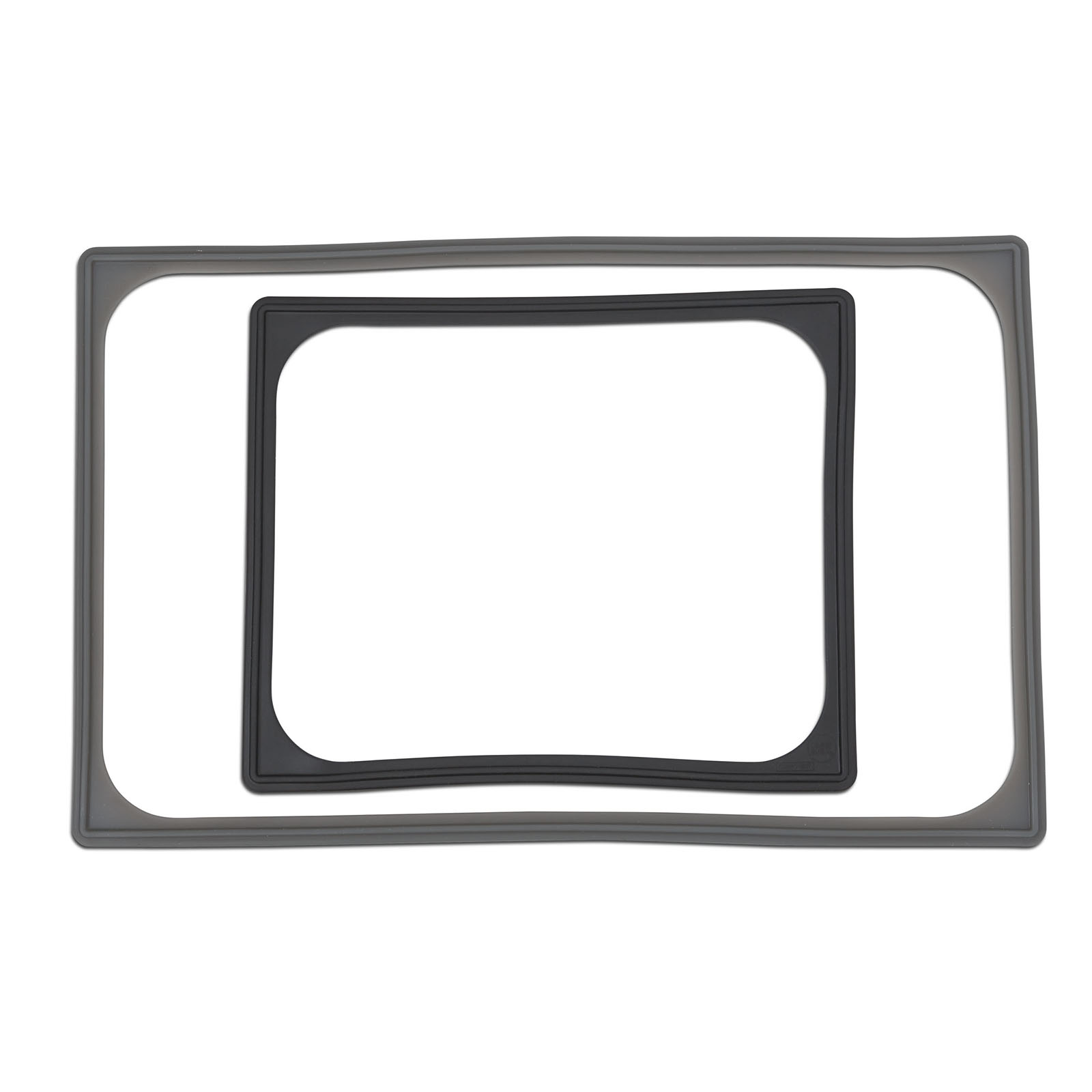 N-0002G Vollrath - High-Temp Silicone Pan Band for Half Size Steam Table - Gray