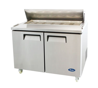 MSF8302 Atosa - Sandwich/Salad Top Reach-In Refrigerator two-section