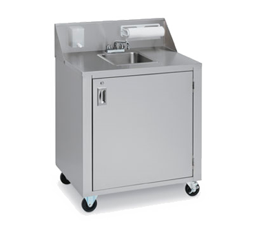 CV-PHS-1C - Portable Hand Sink Cart
