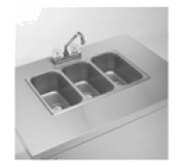 CV-PHS-3C - Portable Hand Sink Cart