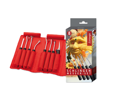 9084408 Eurodib USA - Triangle® Carving Loop Tool Set (8) pieces