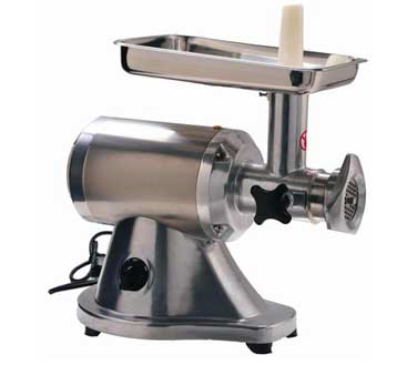 HM-12N Eurodib USA - Meat Grinder anodized aluminum alloy and stainless steel. acid