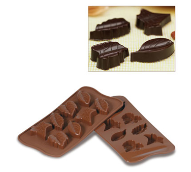 SCG10 Eurodib USA - Silikomart Chocolate Mold Nature